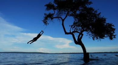 banhista Pantanal