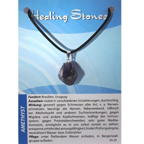 Healing Stones Amethyst