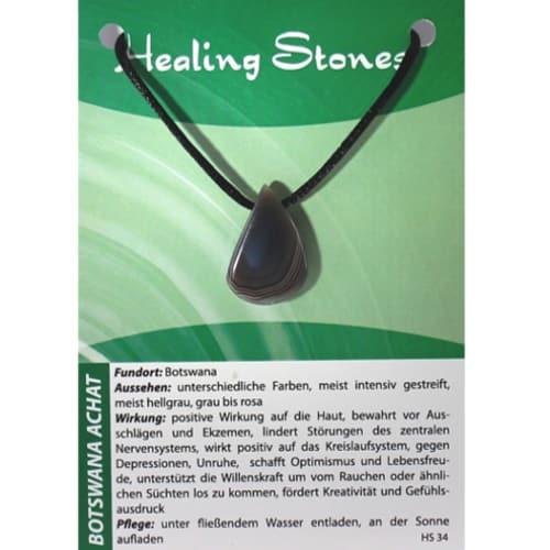 Healing Stones Botswana Achat