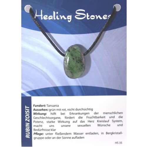 Healing Stones Rubin Zoisit