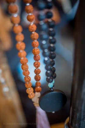 Rudraksha seeds and Black Onyx