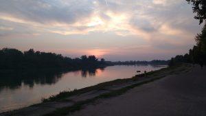 Cremone, le fleuve Po