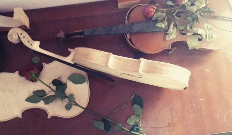 violons en construction