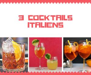 recette de cocktail italien