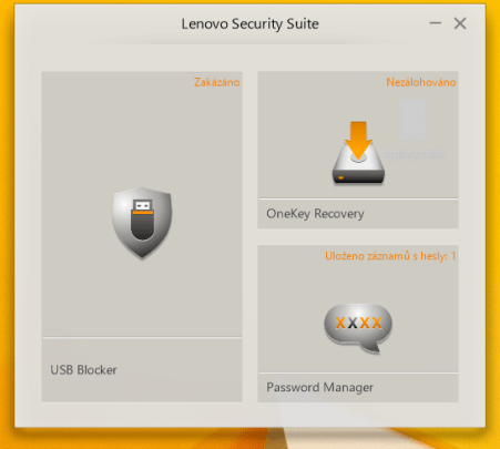 Lenovo Security Suite