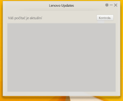 Lenovo Updates