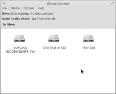 Vybereme požadovaný disk