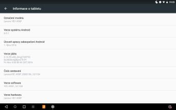 Yoga Book systém Android