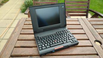 IBM ThinkPad 340CSE pohled1