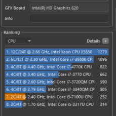 yoga 520 cinebench r15