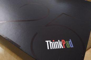 Lenovo ThinkPad 25 box detail
