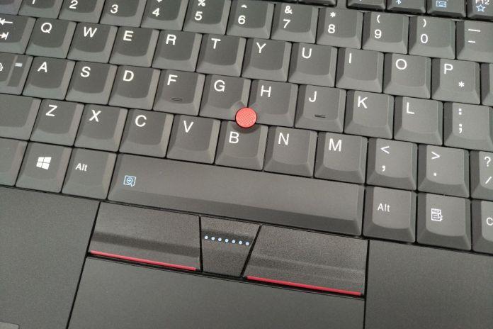 Lenovo ThinkPad 25 trackpoint