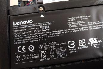 ThinkPad 11e battery