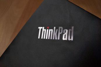 Detail loga ThinkPad.