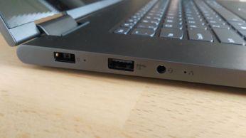 USB 3.0 audiojack a nabíjecí konektor Yoga 730 15