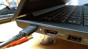 Nabíjení pomocí USB-C