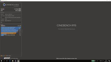 E580 - Cinebench GPU