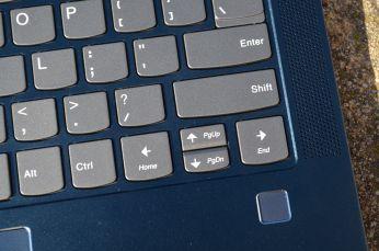 Home, End, Page Up a Page Down jsou na kurzorových klávesách.