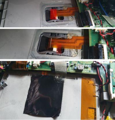 X240 TouchpadSwap ZapojeniKabelu