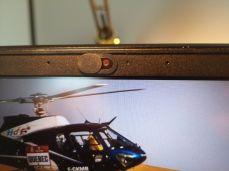 otevřená krytka webkamery hinkpad E580