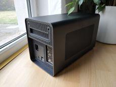 Pohled na box pro externí grafiku Lenovo Bootstation.