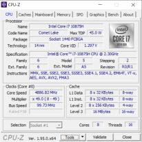 Lenovo Legion Creator 7 – CPU