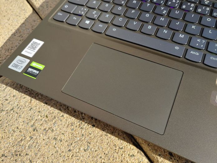 Lenovo Legion Creator 7 – touchpad