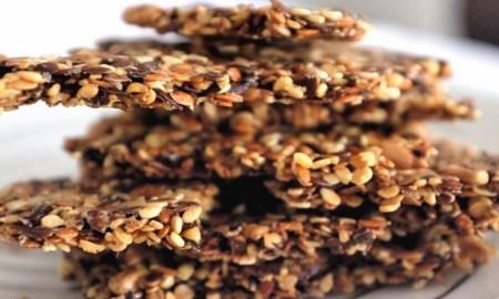 Slané sušienky so semienkami