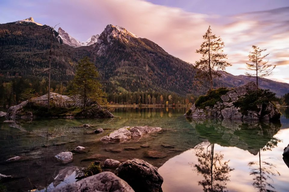 Koenigssee Berchtesgadener Land - 9 Fotospots für atemberaubende Herbstfotos in Deutschland