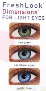 FreshLook Eye Contacts