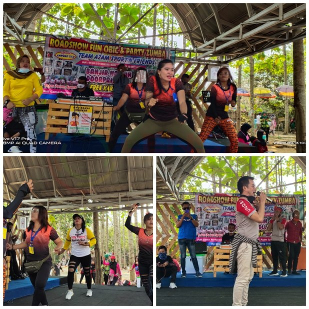 LensaHukum.co.id - IMG 20200913 WA0027 - Roadshow Fun Obic Dan Party Zumba Team Azam Sport N Friend Adakan di Lokasi Kawung Tilu
