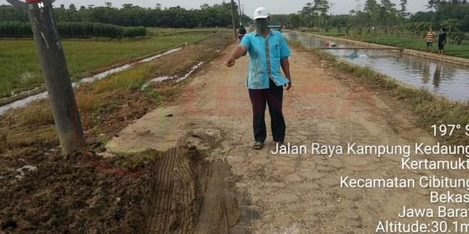 LensaHukum.co.id - Screenshot 20201121 204424 KineMaster - Kepala Desa Kertamukti Berharap Pemerintah Kabupaten Bekasi Segera Membangun Infrastruktur Jalan
