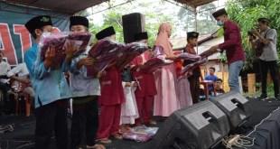 Komunitas Musisi Batang Selatan (COMBAT'S) Adakan Kegiatan Bakti Sosial Santunan Anak Yatim
