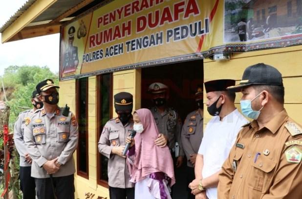 LensaHukum.co.id - Screenshot 20210506 191002 WhatsApp - Kapolres Aceh Tengah, Sambangi Pemilik Rumah Gubuk Tak Layak Huni di Jumat Berkah