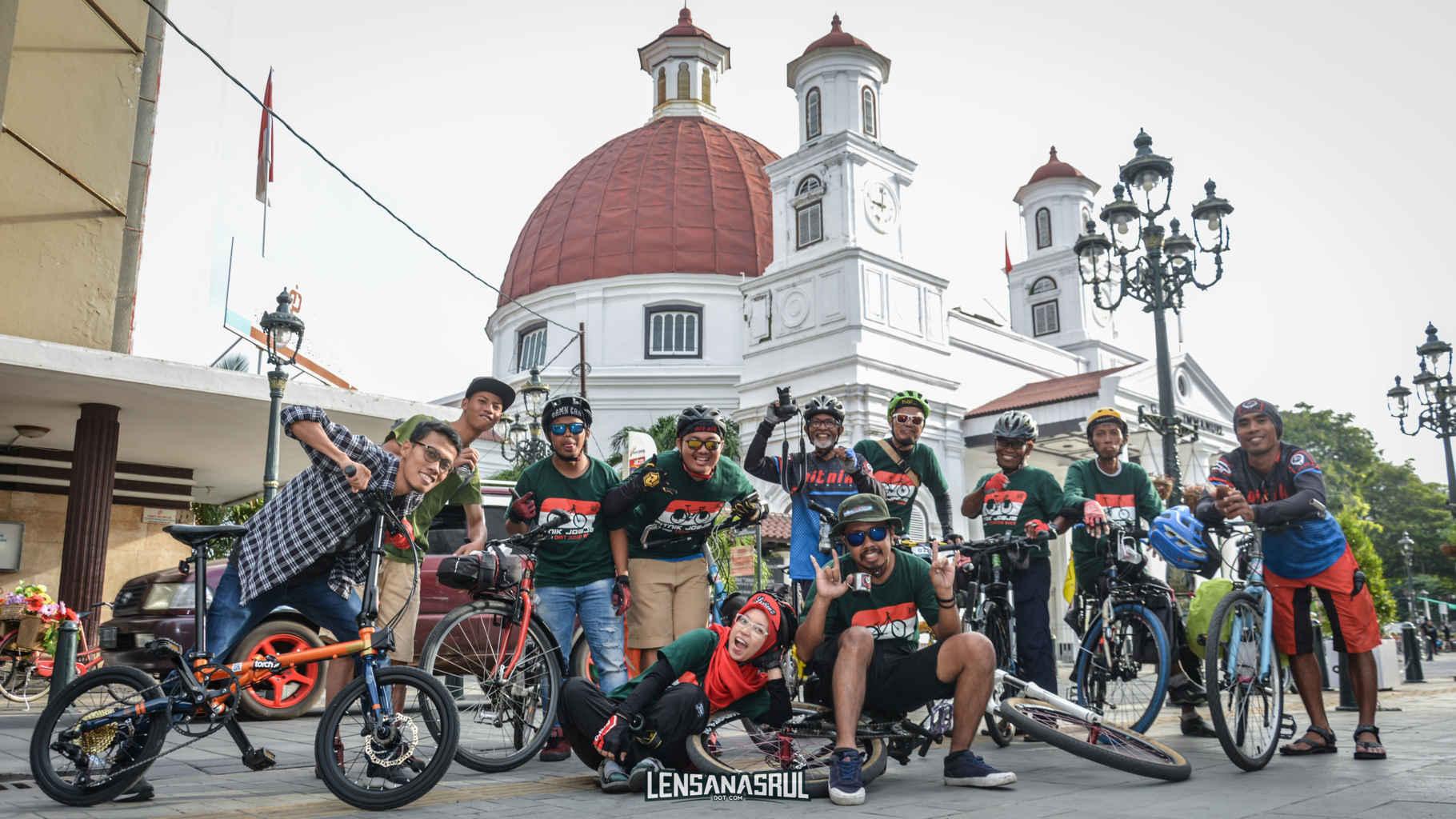 Liburan Ke Semarang Menggunakan Sepeda, Seru Loh..