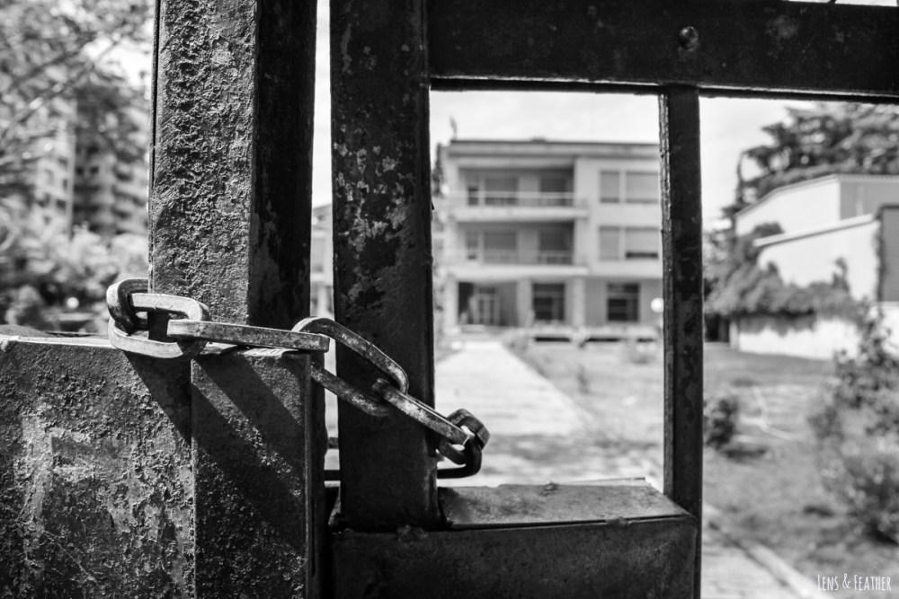 Ehemalige Villa von Diktator Enver Hoxha