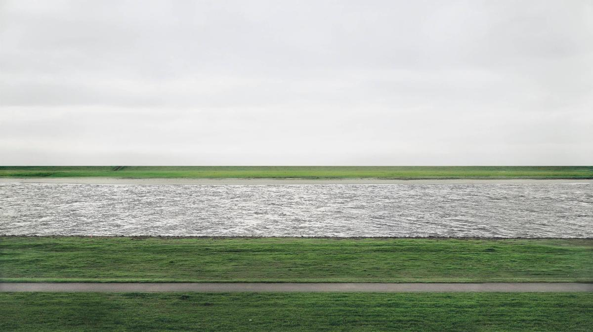 Rhein II Andreas Gursky most expensive photo art
