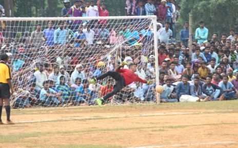 All jharkhand football tournament 2017 : eleven gorkha regiment Lucknow became winner