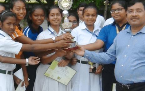 dps ranchi became runnerup at national inter dps basketball tournament girls [ open ] 2017