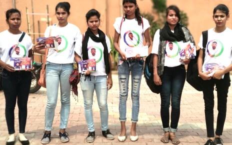 Nagar ki Sarkar:: college girls campaigned in favour of deputy mayor candidate, mumchun rai