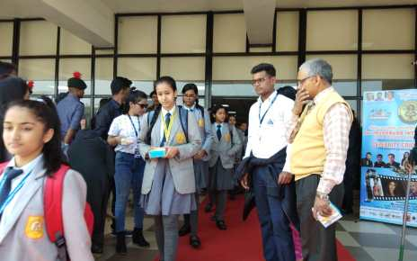 International film Festival :: approx 10000 children participated in screening