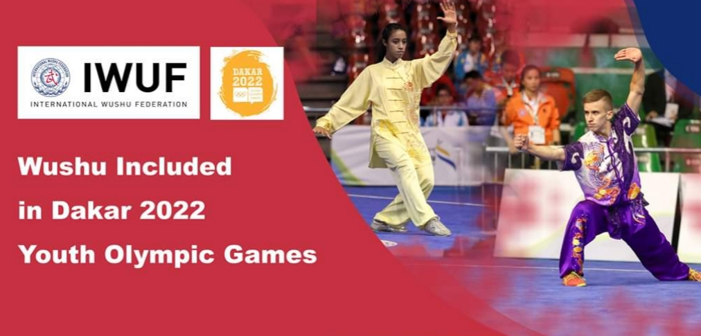 Wushu included in 2022 youth Olympic games