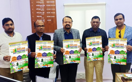 State level online painting competition on occassion of republic day