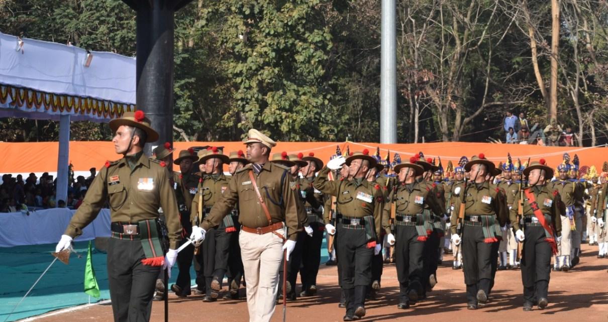 Mindblowing performance by various battalions parade in mirhabadi maidan