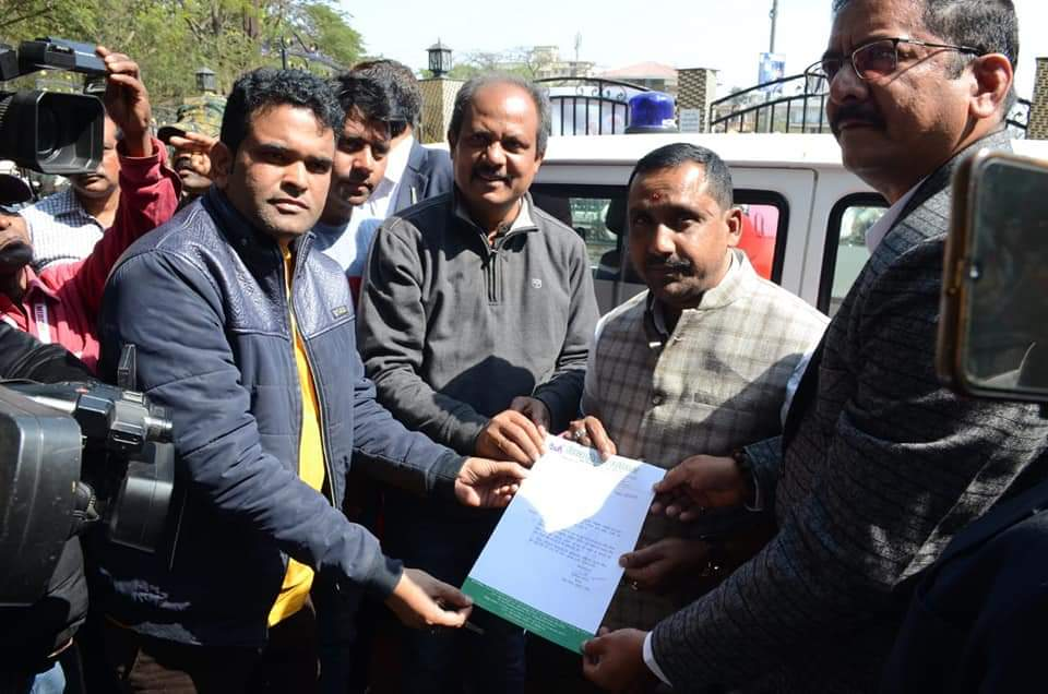 Inaguration of ambulance service for journalist in ranchi press club