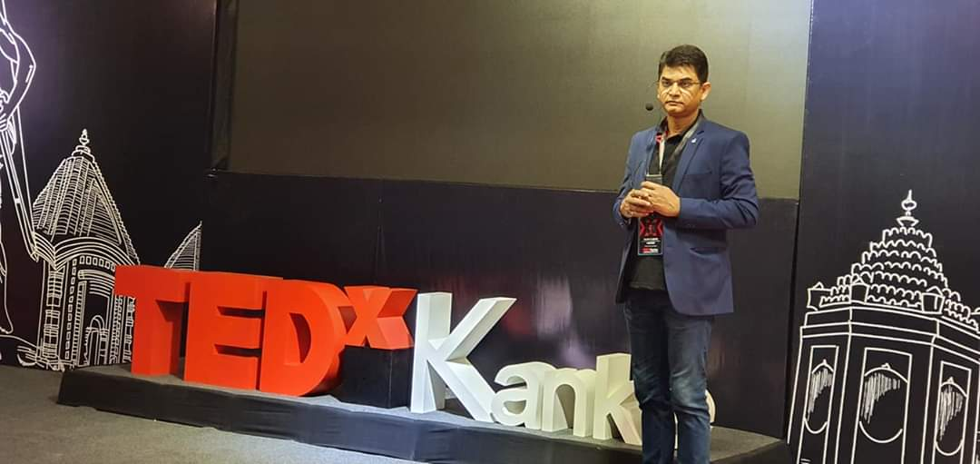 TEDxKanke s programme breaking barrier in hotel b n r chanakya
