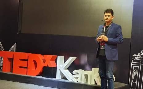 TEDxKanke s programme breaking barrier in hotel b n r chanakya