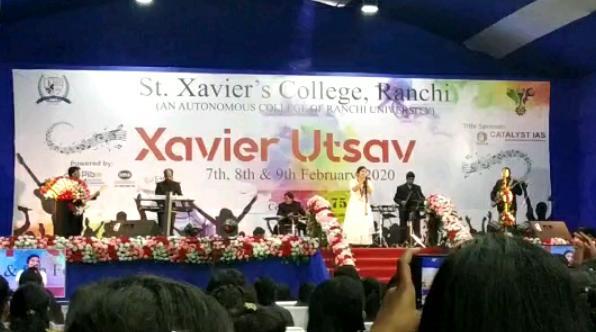 Xavier utsav in st xavier college