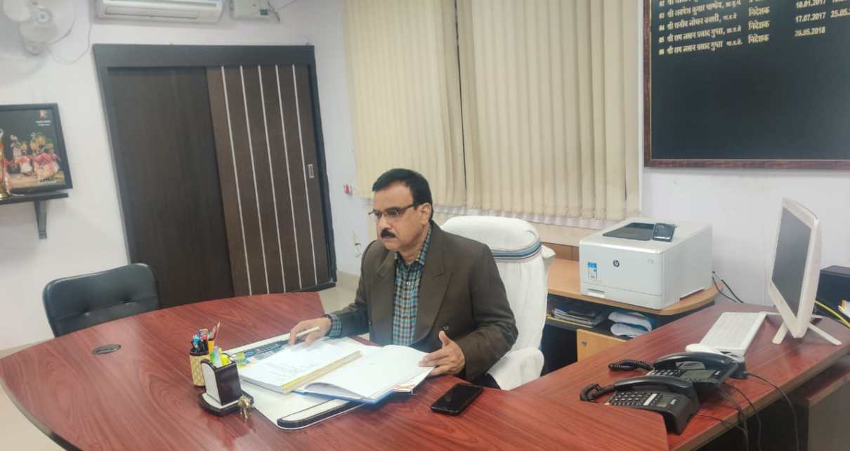 Ramakant singh took the charge of director iprd Jharkhand