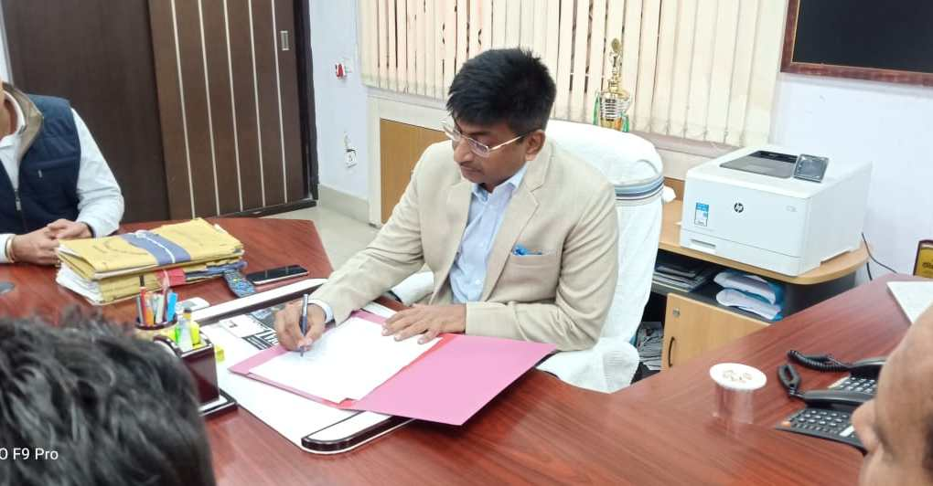 Rajiv lochan bakshi took the office charge as Director to iprd, Jharkhand